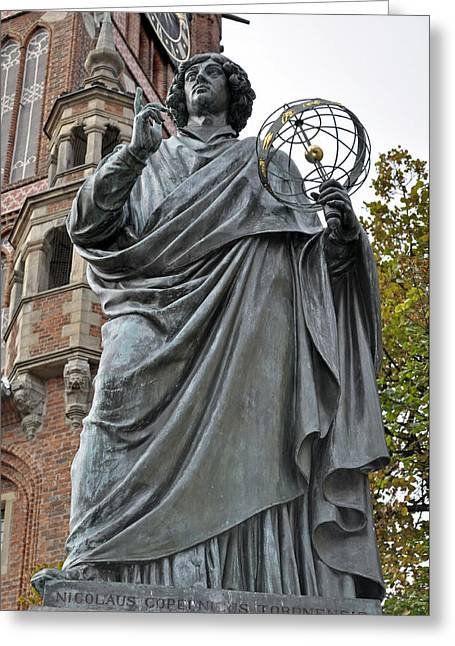 Copernicus Greeting Cards - Nicolaus Copernicus. Greeting Card by Fernando Barozza