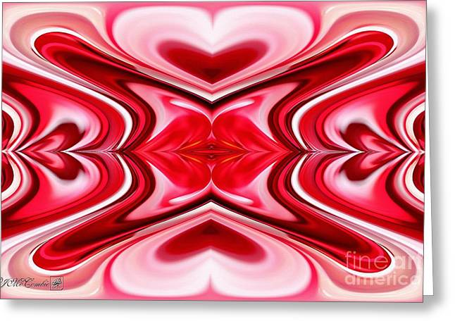 Proportionate Greeting Cards - Noel Abstract Greeting Card by J McCombie