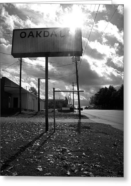 Sc Greeting Cards - Oakdale Greeting Card by Kelly Hazel