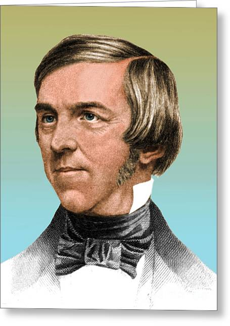 Reformer Greeting Cards - Oliver Wendell Holmes, American Greeting Card by Science Source