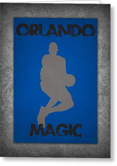 Magic Photographs Greeting Cards - Orlando Magic Greeting Card by Joe Hamilton