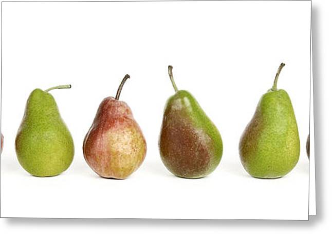 Variation Greeting Cards - Pears Greeting Card by Bernard Jaubert