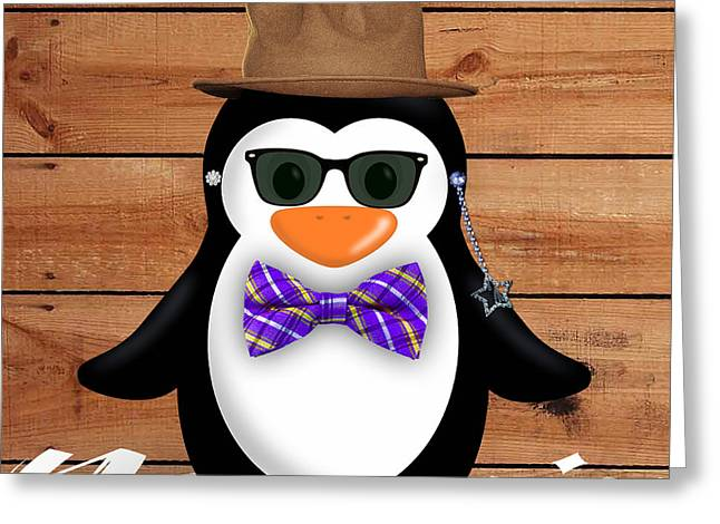 Babies Greeting Cards - Peter Penguin Collection Greeting Card by Marvin Blaine