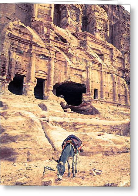 Petra Greeting Cards - Petra Greeting Card by Alexey Stiop