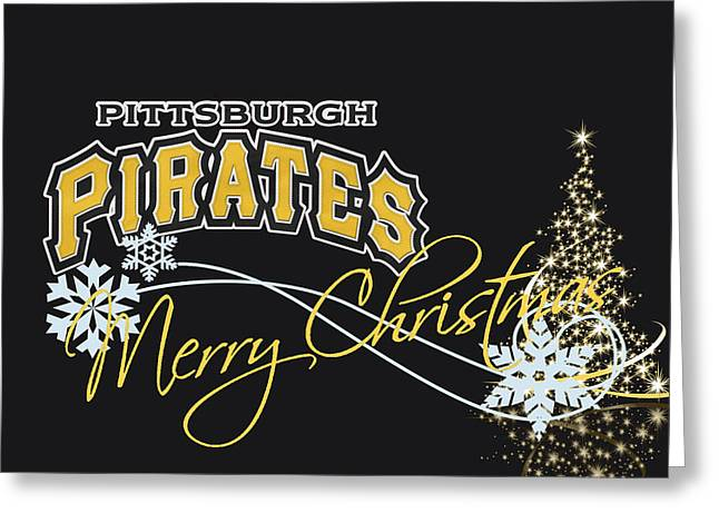 Pirate Photographs Greeting Cards - Pittsburgh Pirates Greeting Card by Joe Hamilton