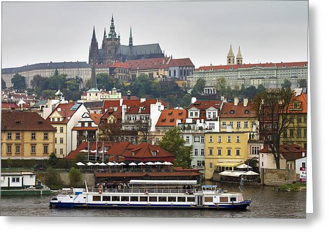 Czechia Greeting Cards - Prague Greeting Card by Chris Smith