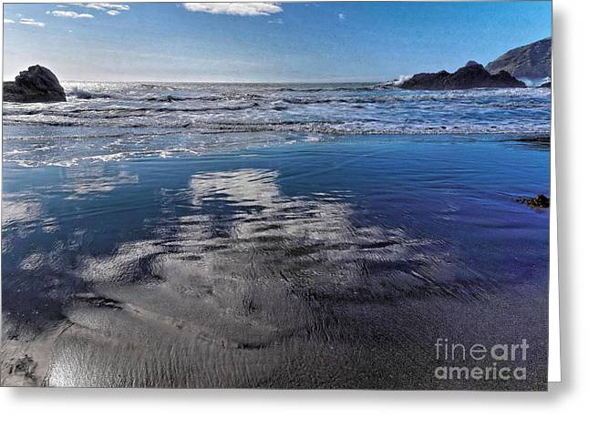 My Ocean Greeting Cards - Reflections Greeting Card by   FLJohnson Photography