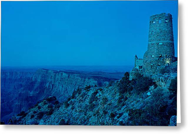 Desert View Greeting Cards - Rock Formations In A National Park Greeting Card by Panoramic Images