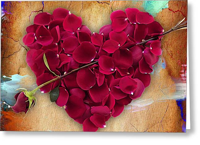 Roses Collection Greeting Card by Marvin Blaine