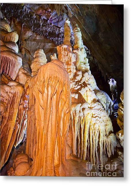 Caves Greeting Cards - Royal Cave Buchan Greeting Card by Alexander Whadcoat