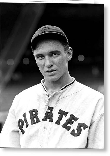 Pirates Photographs Greeting Cards - Russell L. Russ Bauers Greeting Card by Retro Images Archive
