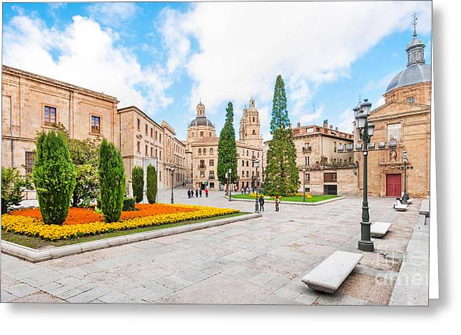 Southern Province Photographs Greeting Cards - Salamanca Greeting Card by JR Photography