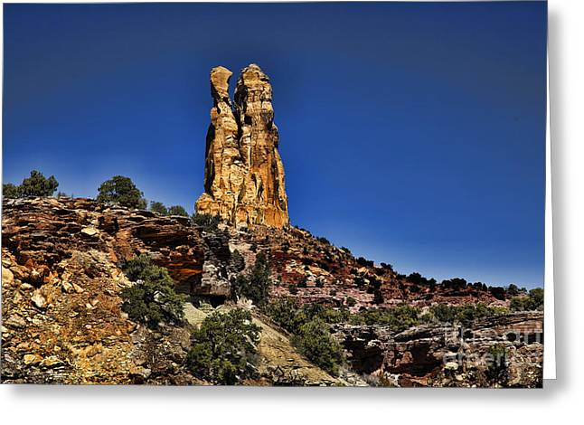 Monolith Greeting Cards - San Rafael Swell Greeting Card by Southern Utah  Photography