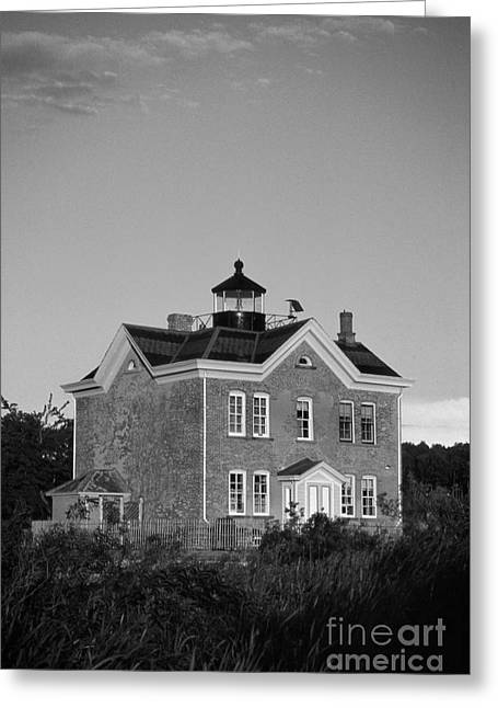 Saugerties Greeting Cards - Saugerties Lighthouse Greeting Card by Skip Willits
