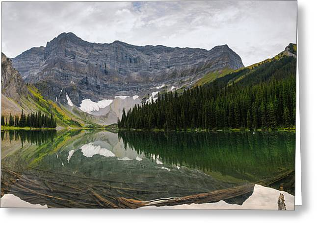 Summer Storm Greeting Cards - Scenic Mountain Views Greeting Card by Brandon Smith