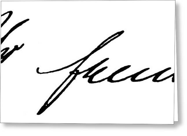 Freud Greeting Cards - Sigmund Freud (1856-1939) Greeting Card by Granger