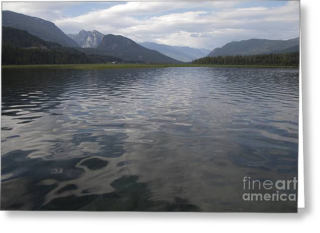 British Columbia Greeting Cards - Slocan Lake Greeting Card by Graham Foulkes