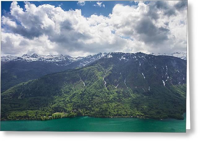 Bohinj Lake Greeting Cards - Slovenia Greeting Card by Nina Peterka