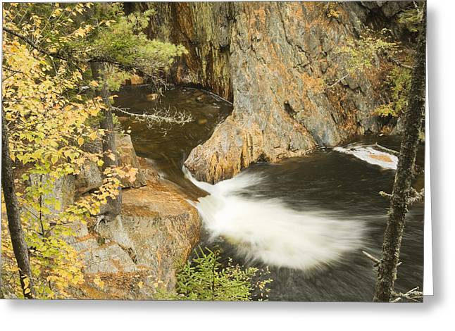 Maine Landscape Greeting Cards - Smalls Falls In Western Maine Greeting Card by Keith Webber Jr