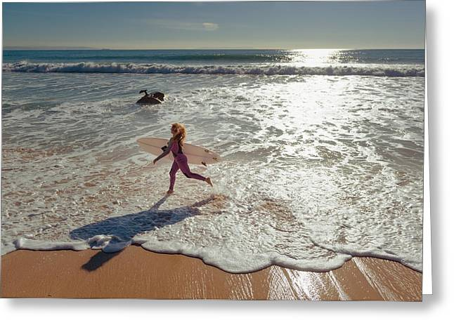 On The Beach Greeting Cards - Spain, Andalusia, Cadiz, Costa De La Greeting Card by Ben Welsh