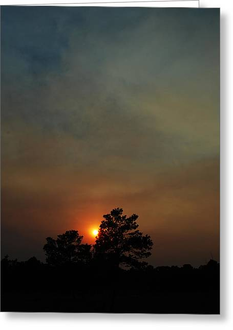 Becky Greeting Cards - #sunset Greeting Card by Becky Furgason