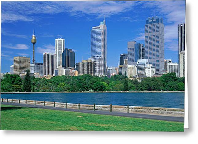 Metropolitan Park Greeting Cards - Sydney Australia Greeting Card by Panoramic Images