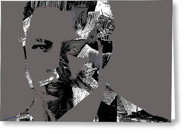 Empire Greeting Cards - Terrence Howard Collection Greeting Card by Marvin Blaine
