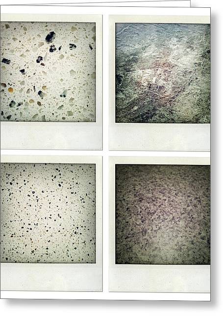 Flooring Photographs Greeting Cards - Textures Greeting Card by Les Cunliffe