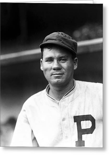 Philadelphia Phillies Photographs Greeting Cards - Thomas J. Tommy Thevenow Greeting Card by Retro Images Archive