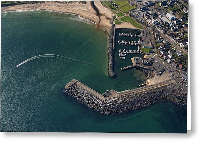 Ballycastle Greeting Cards - Untitled Greeting Card by Colin Bailie