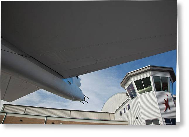 Usa, Colorado, Denver, Wings Greeting Card by Walter Bibikow