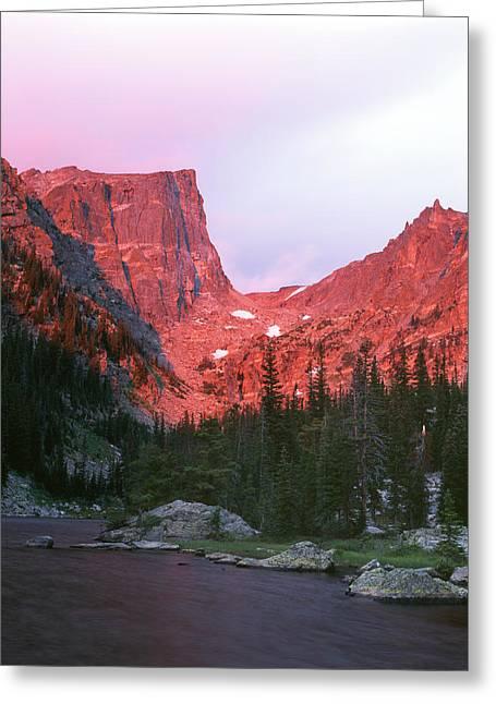 Usa, Colorado, Rocky Mountains National Greeting Card by Adam Jones