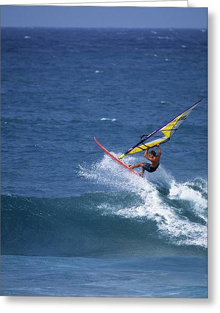 Usa, Maui, Hawaii Greeting Card by Gerry Reynolds