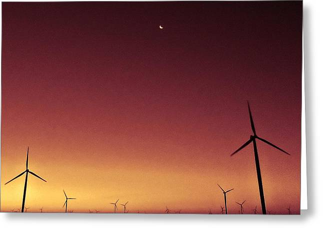 Energy Conversion Greeting Cards - Renewable Greeting Card by Victoria Fischer