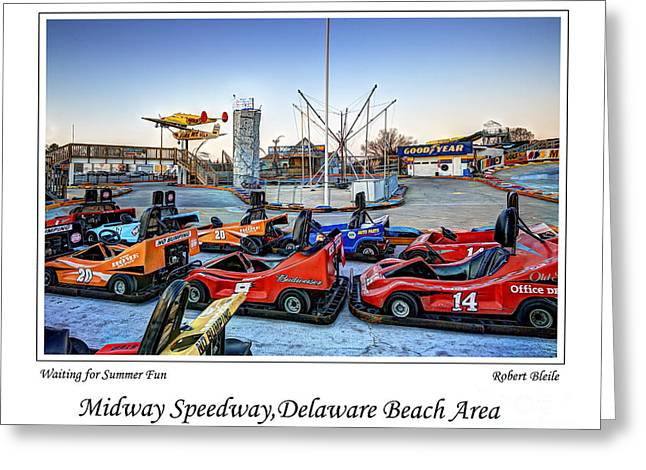 Go Cart Greeting Cards - Waiting for Summer Greeting Card by  Gene  Bleile Photography