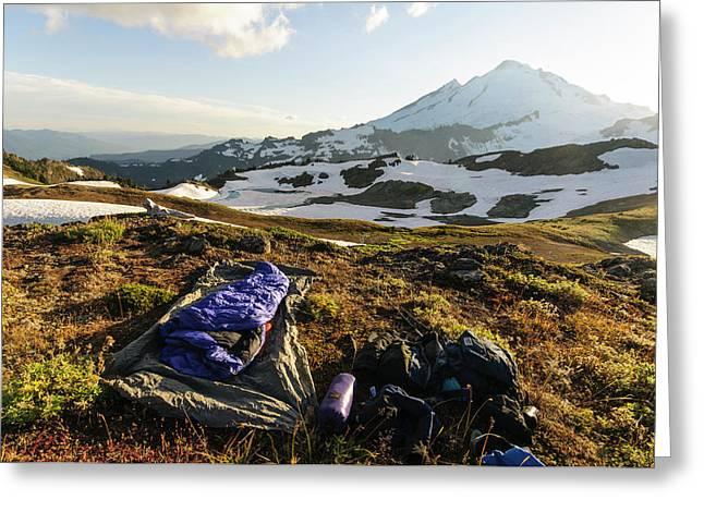 Washington, Cascade Mountains Greeting Card by Matt Freedman