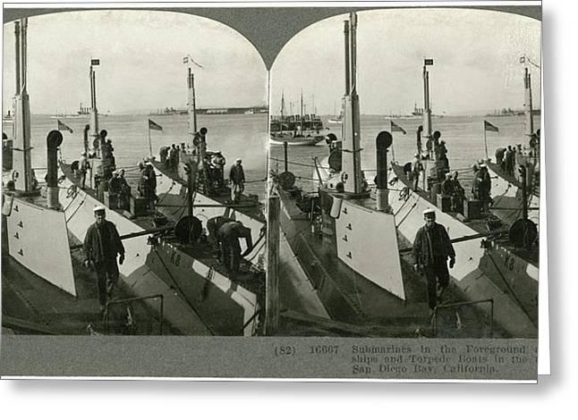 World War I U Greeting Card by Granger