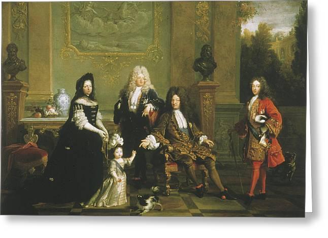 Louis Xiv (1638-1715) Greeting Card by Granger