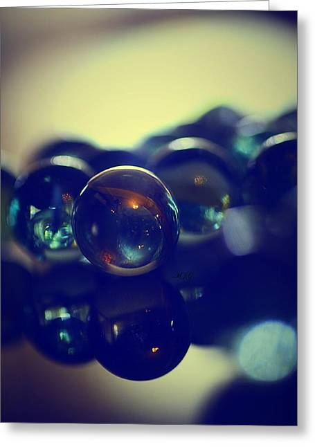 Marble Eye Paintings Greeting Cards - Marbles18 Greeting Card by Michael James Greene