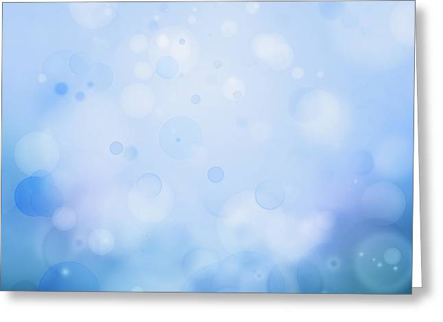 Imagination Greeting Cards - Abstract background Greeting Card by Les Cunliffe
