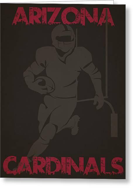 Arizona Cardinals Greeting Cards - Arizona Cardinals Greeting Card by Joe Hamilton