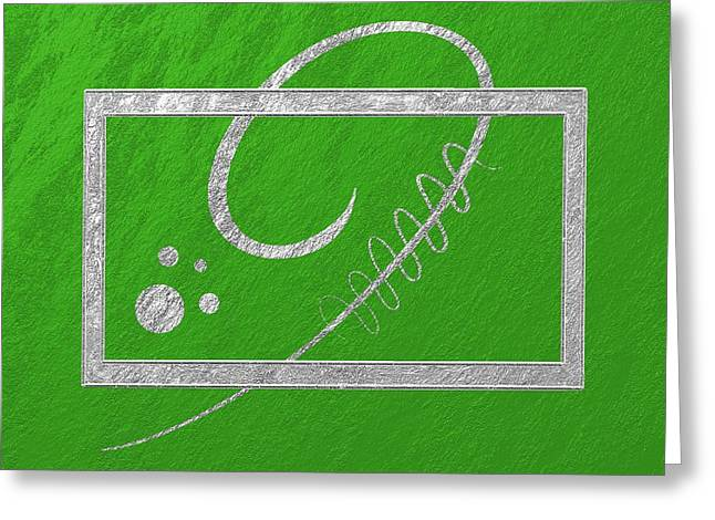 Geometric Effect Greeting Cards - Moderne Greeting Card by Gabi Siebenhuehner