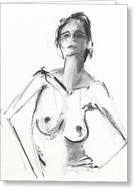 Shaded Drawings Greeting Cards - RCNpaintings.com Greeting Card by Chris N Rohrbach