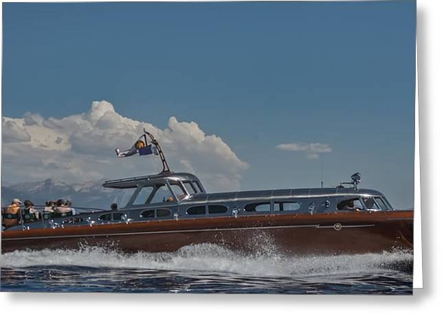 Maritime Classics Greeting Cards - Thunderbird Greeting Card by Steven Lapkin