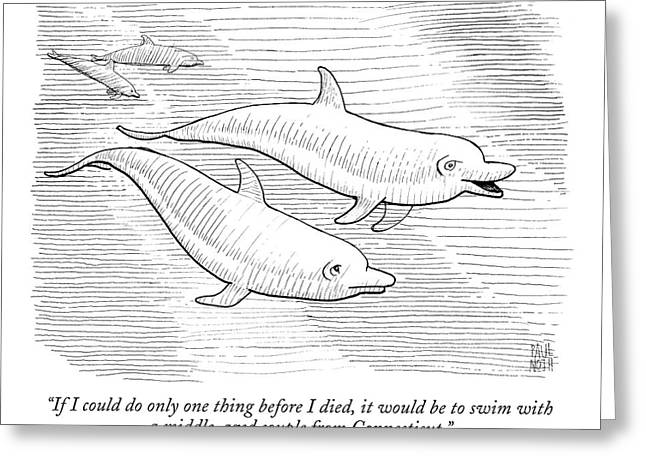 Untitled Greeting Card by Paul Noth