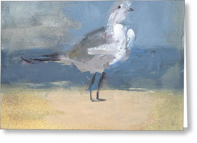 York Beach Greeting Cards - RCNpaintings.com Greeting Card by Chris N Rohrbach