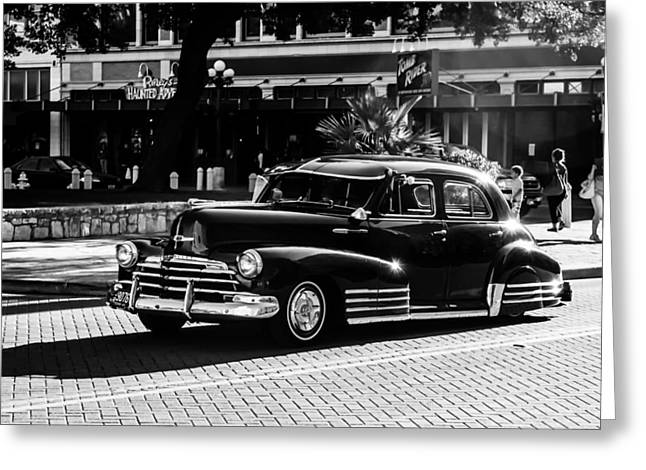 Car 47 Greeting Cards - 47 Chevy Greeting Card by Lauri Novak
