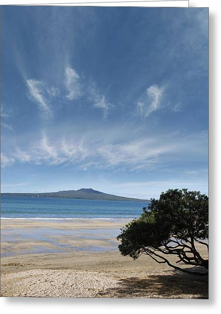 Australasia Greeting Cards - New Zealand Greeting Card by Les Cunliffe