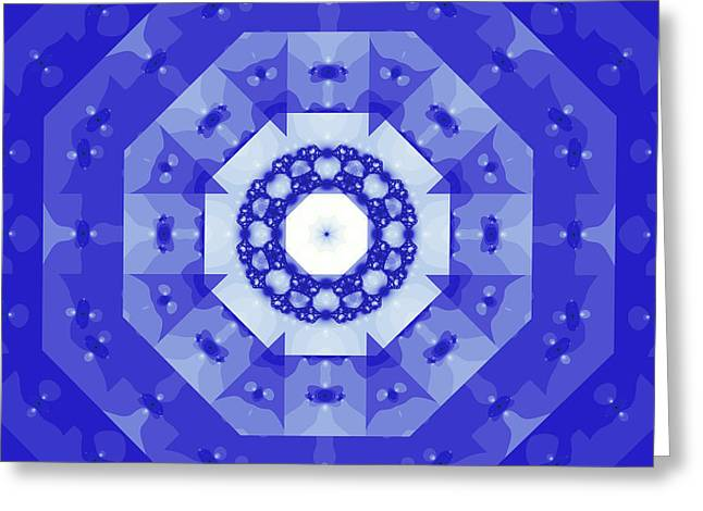 Hippie Sculpture Greeting Cards - The kaleidoscope Greeting Card by Odon Czintos
