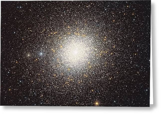 47 Tucanae, A Globular Cluster Located Greeting Card by Roberto Colombari